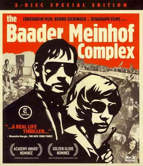 BAADER MEINHOF COMPLEX BY GEDECK,MARTINA (Blu-Ray)